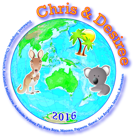 Chris en Desiree Logo