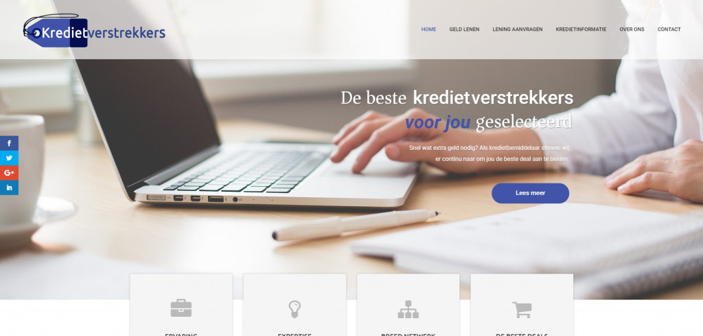 website kredietverstrekkers